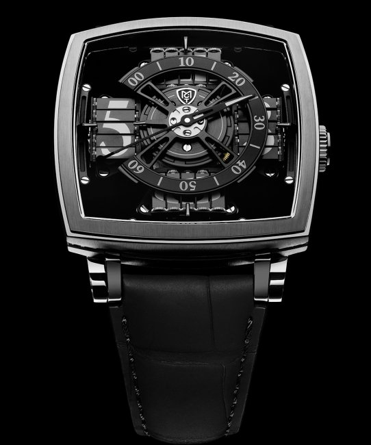 MCT Watches - Sequential One S110 EVO Vantablack - Limited Edition
