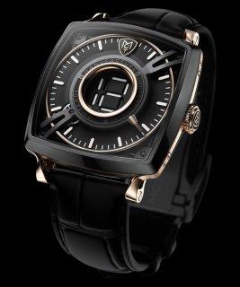 MCT Watches - Dōdekal One - D110 TitaniumBlack DLC & 5N Pink Gold